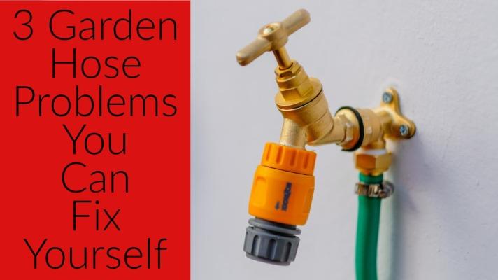 garden hose won t screw on