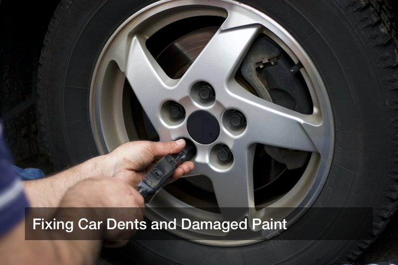Fixing Car Dents and Damaged Paint