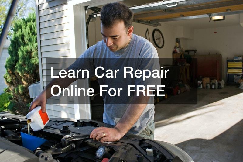 Learn Car Repair Online For FREE