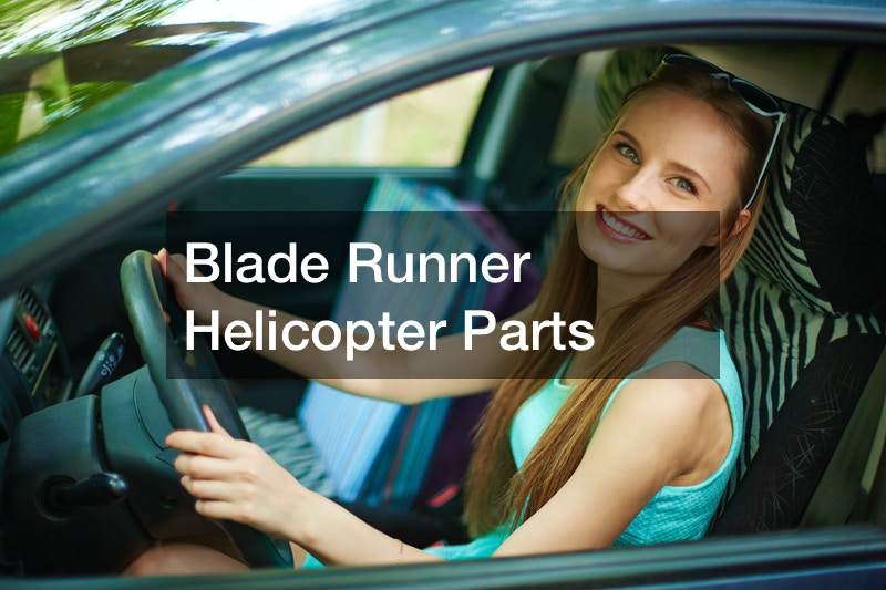 Blade Runner Helicopter Parts
